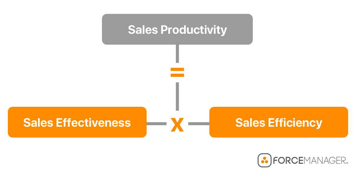 Sales productivity formula