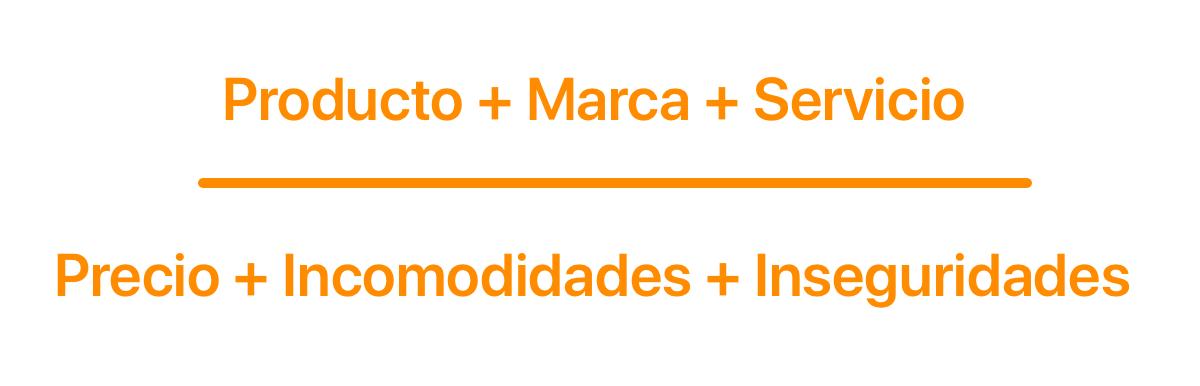 ecuación sobre el valor de los prospectos 2